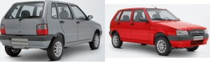 Fiat Mille brazil