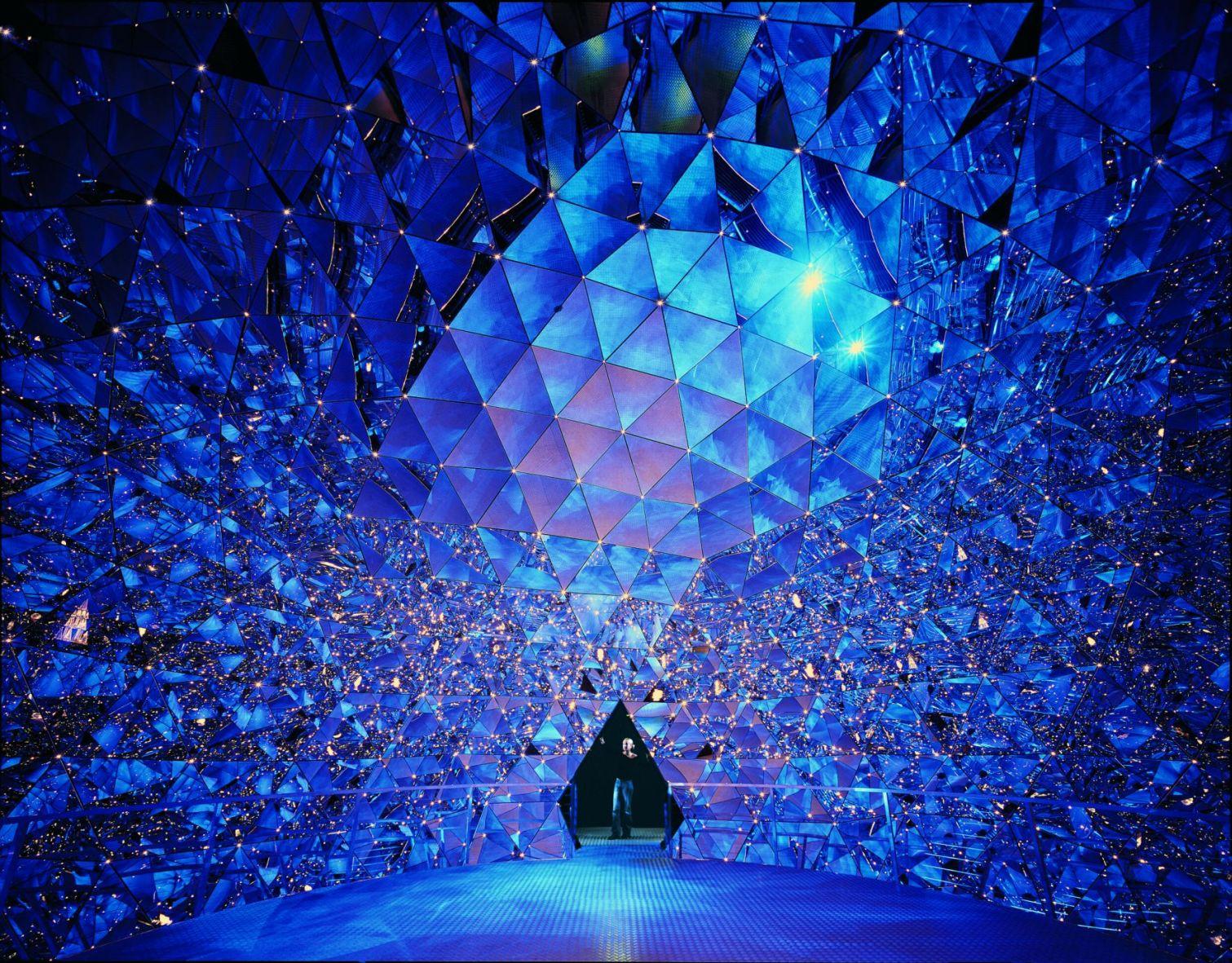 swarovski kristallwelten di wattens innsbruck visibili