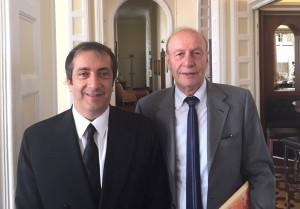 Semeraro (Presidente Rilegno) e Fausto Crema (Past President)