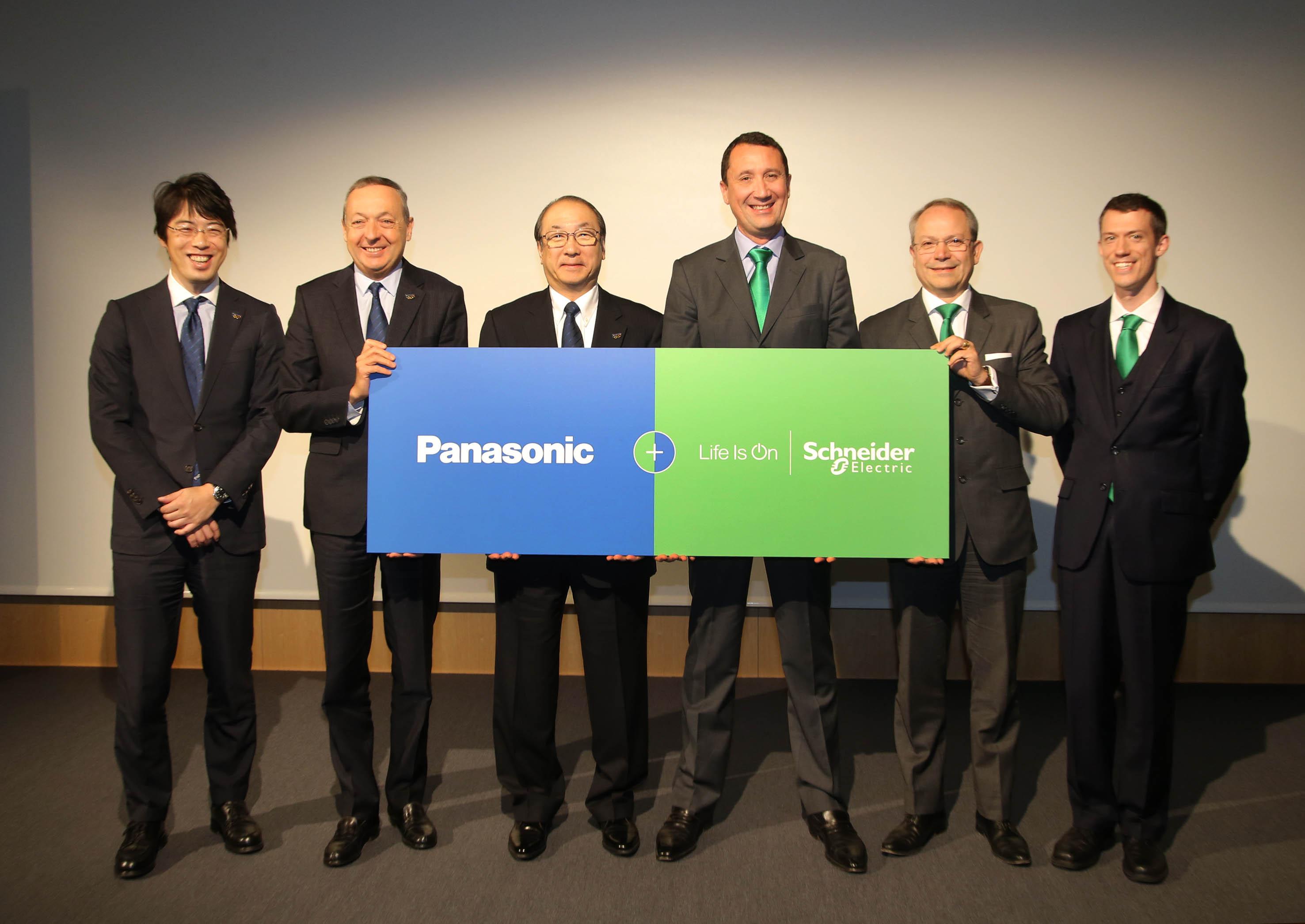 Global Partnership tra Panasonic e Schneider Electric